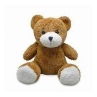 Quality Stuffed Plush Voice Device Brown Music Teddy Bear wit /without head moving for sale