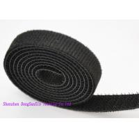 Quality 3 / 4 Inch Self Locking Black  Straps , Double Sided  Roll OEM / ODM Acceptable for sale
