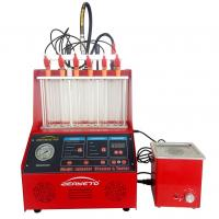 China AC 220V Fuel Injector Tester And Cleaner Machine Flow Testing 27kg Weight on sale