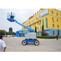Quality Professional Design Electric Articulating Boom Lift Double Controllers Sompact for sale
