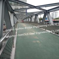 Quality Steel Structure Pedestrian Bridge Crossroad Overpass Bridge And Flyovers For Urban Traffic Solutions for sale