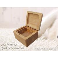Quality Small Beech Wood Blank Laser Engrave Pet Keepsake Urn Gift Box Tribute Chest Box, LOW Minimum Order for sale