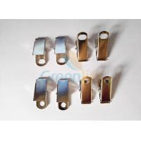 China Smooth Surface Metal Bulldog Clips Customized Nickle Plated Light - Weight on sale
