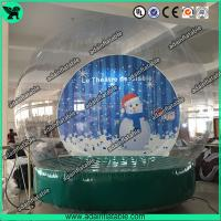 Quality Christmas Decoration Transparent Snow Ball Event Show Ball Exhibition Balloon for sale