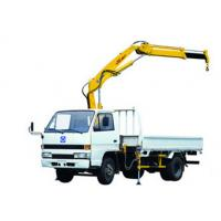 Quality Structure Knuckle Boom Truck Mounted Crane, 5.5m Max Reach Height for sale