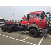Quality 30 - 40 Ton Prime Mover Truck , Weichai Engine Beiben 6x4 Tractor For Africa Market for sale