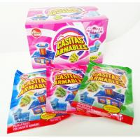 Quality Multi Fruit Flavor CC Candy Stick Sweets With Lovely Villa Jigsaw Puzzle Toy for sale