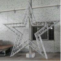 Quality Party Bolt Circular Truss Aluminum For Concert / Cabaret Star Shaped Five Corners for sale