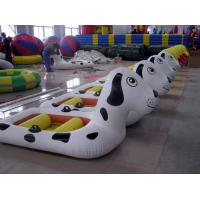China Amusement Park fireproof PVC tarpaulin Inflatable Boat Water Entertainment on sale