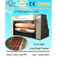 Automatic Rotary Paper Die Cutting Machine For Corrugated With Electronic Digital Control