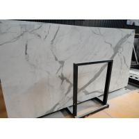 Quality Italian Calacatta Nature Marble Slab Countertop For Kitchen Bar OEM / ODM Avaliable for sale