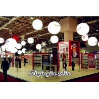 Hanging Advertising Inflatable Balloon, Decorative Light Ball for Exhibition