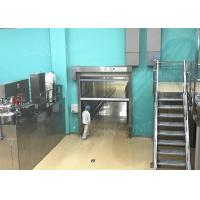 Buy cheap CE Industrial High Speed Door Production Line 304 Stainless Steel Door Frame from wholesalers