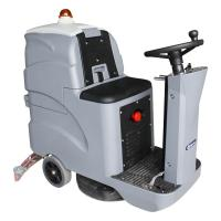 Quality Convenient Ride On Floor Scrubber Dryer Electronic Throttle Control Speed for sale