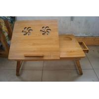 Quality Eco Friendly Bamboo tray, bamboo computer laptop desk with drawer for sale