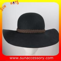China 2272 hot sale wide brim floppy hats wholesale for ladies,100% Australia wool felt hats on sale