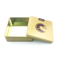 Quality 150X150X50mm Square Tin Box for sale