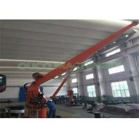 Quality Electrical Stiff Boom Crane , Hydraulic Small Marine Cranes High Efficiency for sale
