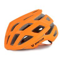 Quality Customized Fashionable Cool Road Bike Helmets Sport Orange For Adult for sale