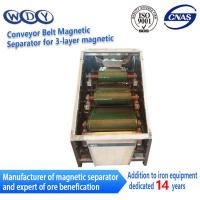 Quality Professional Production Belt Rolls Type Magnetic Separator Machine for sale