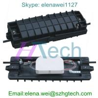 Quality 24Core Inline Fiber Optic Splice Closure 2In2Out, 4 fiber cable in-out ports for sale