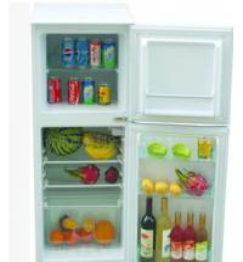 High Quality Solar Refrigerator 100L-208LDouble-Door Fridge Fresh-Keeping and Freezing