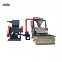 Quality Scrap Cable Recycling Machine , Copper Wire Granulator With Belt Conveyor for sale