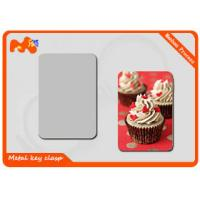 Quality White Blank Photo Magnets , Light Weight Personalized Refrigerator Magnets for sale