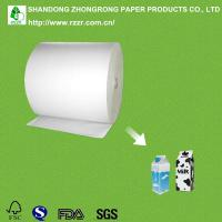 Quality PE coated paperboard for milk boxes for sale