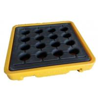 Quality Single Spill Containment Pallet Deck No Forklift Pocket Corrosion Free for sale