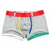 Quality Fashion High Rise Boxer Briefs , High Stretch Mens Cotton Boxer Shorts for sale
