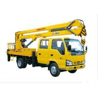 Quality XCMG 16m Lifting aerial platform truck , heavy construction equipment for sale