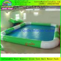 China Best Selling Large Square Inflatable Pools For Adults And Child For All Size on sale