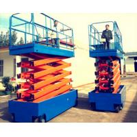 China CE stationary truck mounted boom lift , working platform for Restaurant / Hotel Exhibition Hall on sale