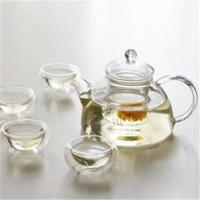 Quality Glass tea set for sale