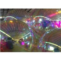 China Indoor Inflatable Mirror Balloon , Mirror Ball Decorations 1m Diameter on sale