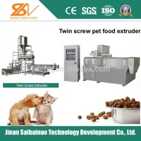 Quality 100kg/h-6t/h Automatic Pet Dog Cat  Food Making Machine for sale