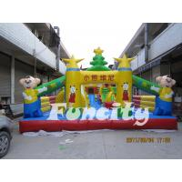 China Winnie The Pooh Theme Inflatable Pool Toy Fun City Durable PVC Tarpaulin For Kids on sale