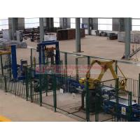 Quality Aluminum ingot Automatic Stacking Machine 650mm Pallet Conveyor Belt Height for sale