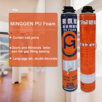 China White Color Fireproof Polyurethane Foam Adhesive Environmental Protection on sale