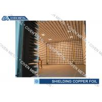 Quality EMI / EMC Copper Shielding Foil / CCL FPC thin copper sheet for sale