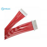 Quality 12pin 1.0mm Pitch JST SHR-12V-S-B To SHLP-12V-S-B 28AWG Wire Harness for sale
