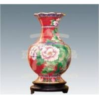 China cloisonne vase metal vase handicraft collection gift art on sale