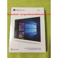 Buy cheap Online Activation Windows 10 Pro Retail Box USB 3.0 Russian Language 32 Bit 64 from wholesalers