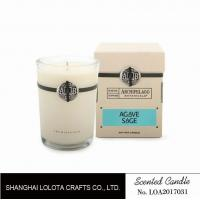 Buy Southern Belle / Raspberry Fragrance Natural Scented Candle Chemical Free , Eliminating Odors at wholesale prices