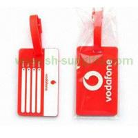 Buy cheap PVC Plastic Luggage Tag, Luggage Accessory from wholesalers