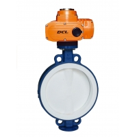 Quality Low Leakage Vacuum SS316 Explosion Proof Electric Butterfly Valve for sale