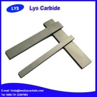 Buy cheap Cemented carbide strips with angles from wholesalers