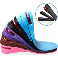 Buy Height Adjustable Insole Heel Lift Shoe Insert For Men Woman at wholesale prices