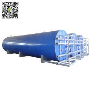 Oil Fired Heats Asphalt Tank, Bitumen Tank (Storage Capacity 34CBM-100CBM Skid with 2 Burners for Hot Liquid Asphalt)